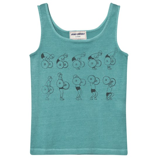 Bobo Choses Weightlifting Tank Top Turquoise Blue Turquoise Blue