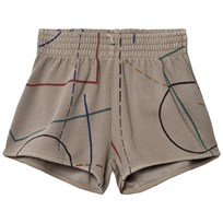 Bobo Choses Court Running Shorts Chateau Grey Chateau Gray