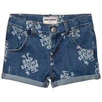 Bobo Choses 1968 Denim Shorts Mazarine Blue Mazarine Blue