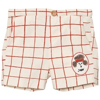 Bobo Choses John Patch Net Tennis Shorts Off White Off white