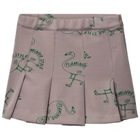 Bobo Choses Flamingos Skirt Chateau Grey Chateau Gray