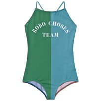 Bobo Choses B.C. TEAM Vintage Bathing Costume Turquoise Blue Turquoise Blue
