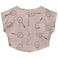 Bobo Choses Tennis Blouse Off Rose Off Rose