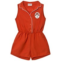 Bobo Choses Tailor Romper Red Clay Red Clay