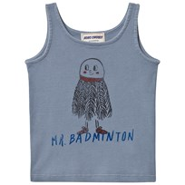 Bobo Choses Mr. Badminton Baby Tank Top Cloud Blue cloud blue
