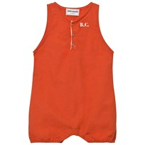 Bobo Choses B.C. TEAM Baby Romper Red Clay Red Clay