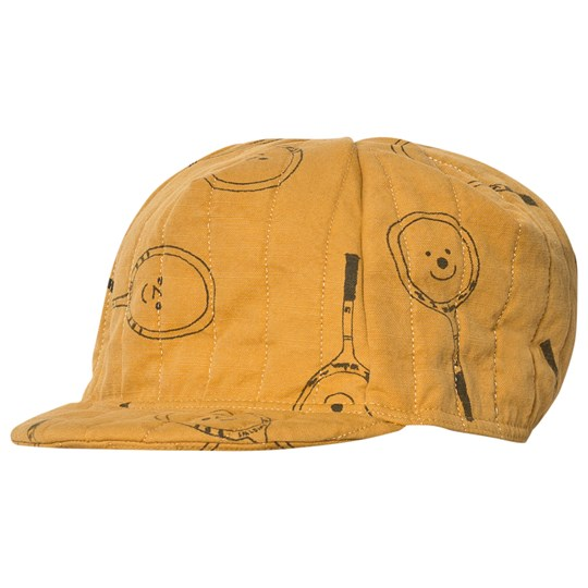 Bobo Choses Tennis Padded Cycling Cap Golden Nugget Golden Nugget