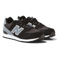 New Balance 574 High Visibility Black/Grey Multi