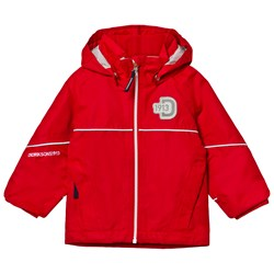 Didriksons Jarkos Kid's Jacket Flag Red