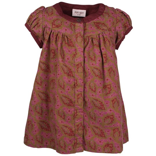 Noa Noa Miniature Dress Sylvie Dusty Burgundy Multi
