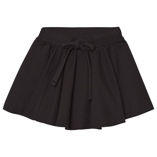 How To Kiss A Frog Jersey Skirt Black Black
