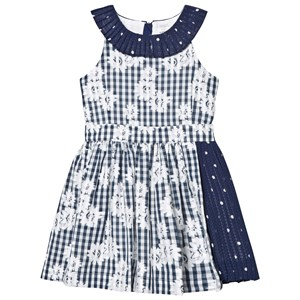 Image of No Added Sugar Salad Days Dress Floral Gingham And Sheer Spot 3 years (2743798331)