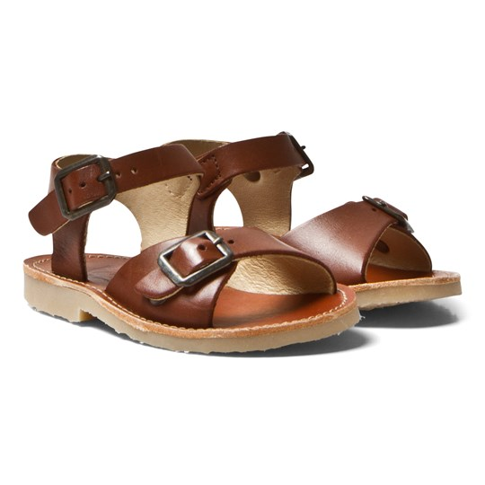 Young Soles Sonny Sandals Chestnut Brown CHESTNUT BROWN LEATHER
