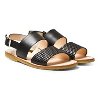 Angulus Black Junior Sandals fantasia 2475/1785