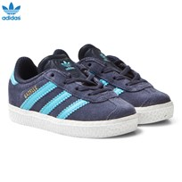 adidas Originals Midnight Grey Infants Gazelle Trainers MIDNIGHT GREY