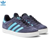 adidas Originals Midnight Grey Kids Gazelle Trainers MIDNIGHT GREY