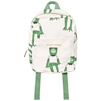 Mini Rodini Frog Backpack Green Green