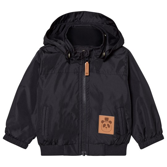 Mini Rodini Wind Jacket Black Black