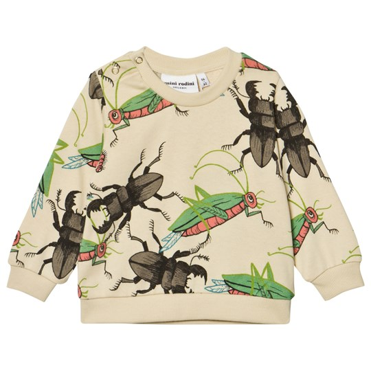 Mini Rodini Insects Sweatshirt Beige Beige