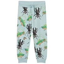 Mini Rodini Mr Mouse Sweatpants Light Blue Light Blue