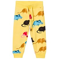 Mini Rodini Mr Mouse Sweatpants Gul Yellow