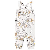 Mini Rodini Music Jumpsuit Off White Off white