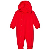 Mini Rodini New Born Onsie Röd Red