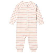 Mini Rodini Stripe Rib Body Pink Pink