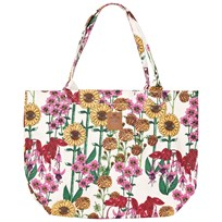 Mini Rodini Garden Bag Off White Off white