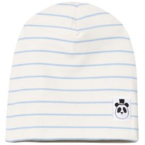 Mini Rodini Stripe Rib Mössa Light Blue Light Blue