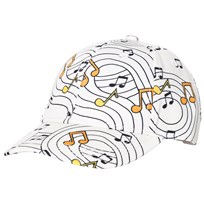 Mini Rodini Music Cap Off White Off white