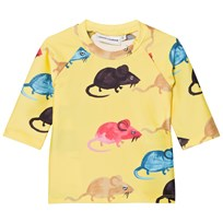 Mini Rodini Mr Mouse UV Top Yellow Yellow