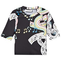 Mini Rodini Melody UV Top Black Black