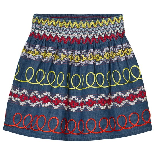 Stella McCartney Kids Multi Embroidered Skirt 4161