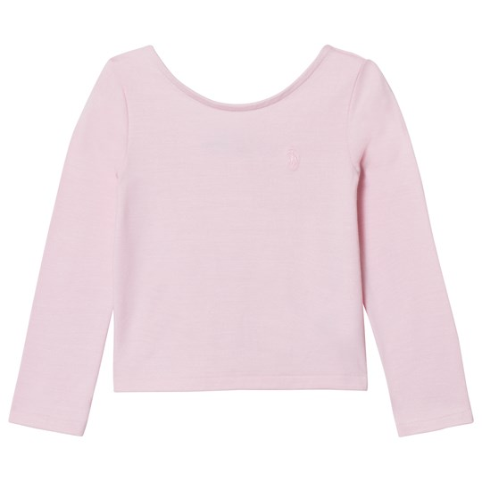 Ralph Lauren Pink Scoop Neck Tee 004