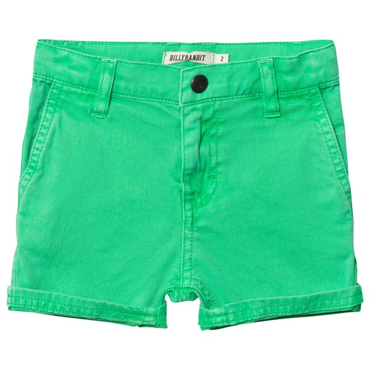 Billybandit Bright Green Chino Shorts 705