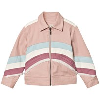 Stella McCartney Kids Jacka Unicorn Back Rosa 5768