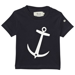 Image of Emma och Malena T-shirt Anchor Navy 50/56 cm (3007394803)