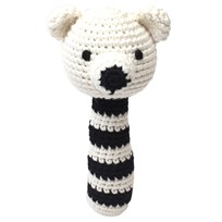 natureZOO Rattle Sir Polar Bear Black