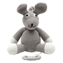 natureZOO Music Box - Mr. Rabbit Grey Grey