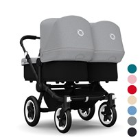 Bugaboo Donkey Twin Black/Black Extendable Sun Canopy