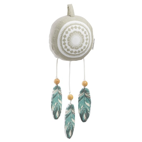 Elodie Music Toy Dream Catcher Small Grey/mixed