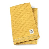 Elodie Details Cotton waffle blanket Sweet Honey Yellow