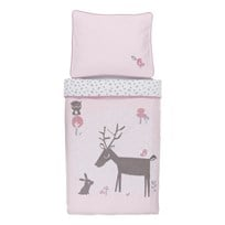 Vinter & Bloom Forest Friends Bedset Bassinet Blossom Blossom