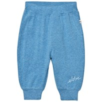 eBBe Kids Billy Relaxed Pants Blue Denim Melange Blue denim melange