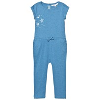 eBBe Kids Bling Jumpsuit Blue Denim Melange Blue denim melange
