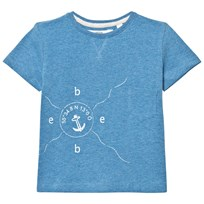 eBBe Kids Barnie T-Shirt Blue Denim Melange Blue denim melange