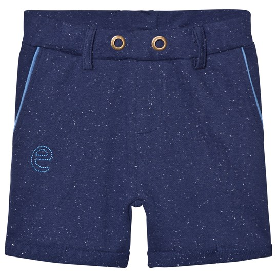 ebbe Kids Saros Sweat Chinos Shorts Sea Blue Neps Sea blue neps