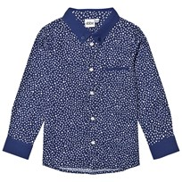 eBBe Kids Costas Shirt Dotted Midnight Blue Dotted midnight blue