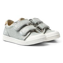 10-IS Grey Shine TEN V 2 Velcro Shoes Antik